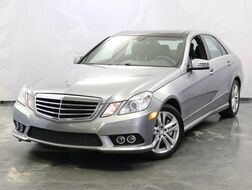 2010_Mercedes-Benz_E-Class_E 550 Sport / 5.5L V8 Engine / AWD 4Matic / Dual Sunroof / Navigation / Harman Kardon Premium Sound System / Heated + Ventilated Front Seats / Parking Aid with Rear View Camera / Rear Entertainment_ Addison IL