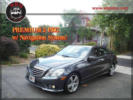 2010_Mercedes-Benz_E350_4MATIC Sport_ Arlington VA
