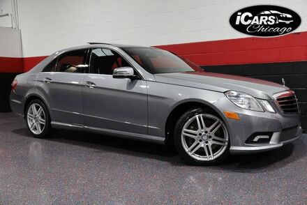 2010_Mercedes-Benz_E550 4-Matic AMG Sport_4dr Sedan_ Chicago IL