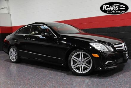 2010_Mercedes-Benz_E550 AMG Sport_2dr Coupe_ Chicago IL