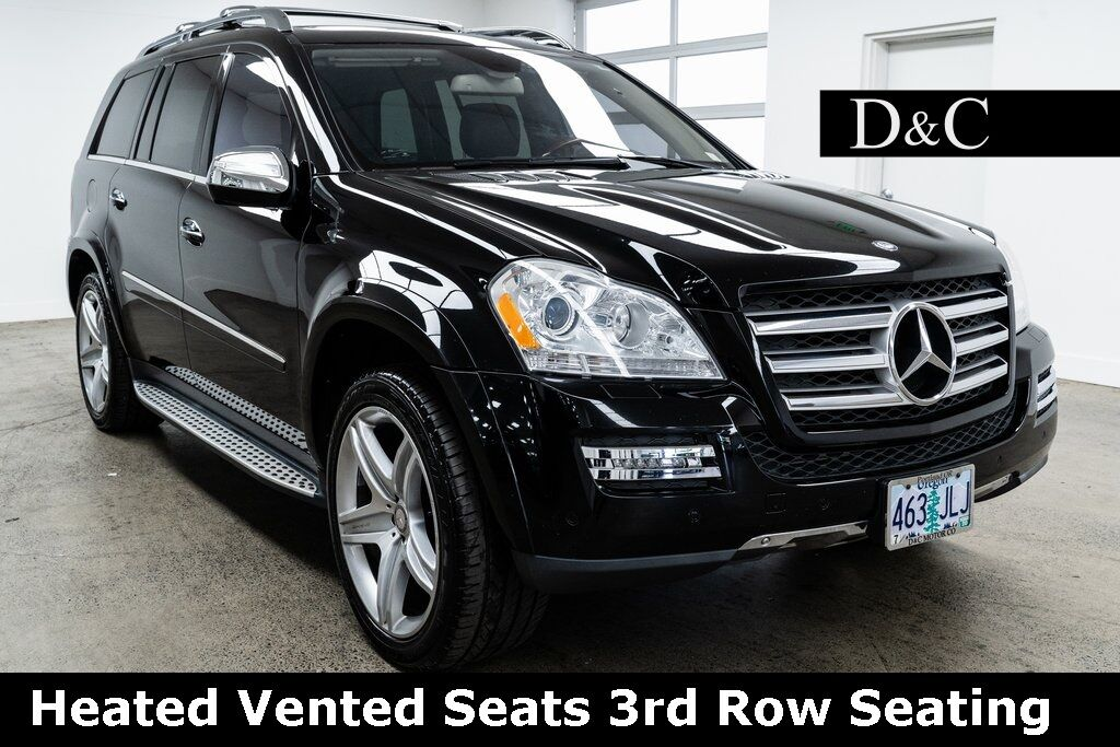 2010 Mercedes-Benz GL-Class GL 550 4MATIC Heated Vented Seats 3rd Row Seating Portland OR
