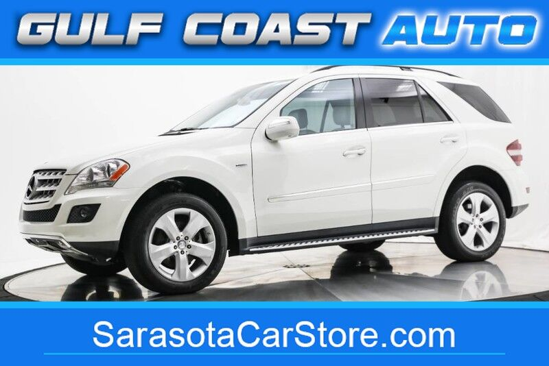 2010_Mercedes-Benz_M-CLASS_ML 350 BlueTEC TURBIO DIESEL LEATHER SUNROOF NAVI LOADED !!_ Sarasota FL