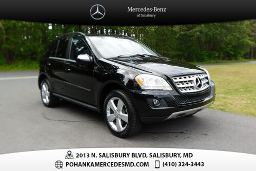 2010_Mercedes-Benz_M-Class_ML 350 4MATIC®_ Salisbury MD