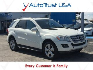 Mercedes-Benz M-Class ML350 BLUETEC 4MATIC LEATHER NAV BACKUP CAM SUNROOF FULLY LOADED 2010