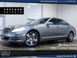 2010 Mercedes-Benz S 550 Local Car Htd/Cooled Seats Backup Cam