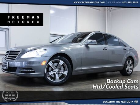 2010_Mercedes-Benz_S 550_Local Car Htd/Cooled Seats Backup Cam_ Portland OR