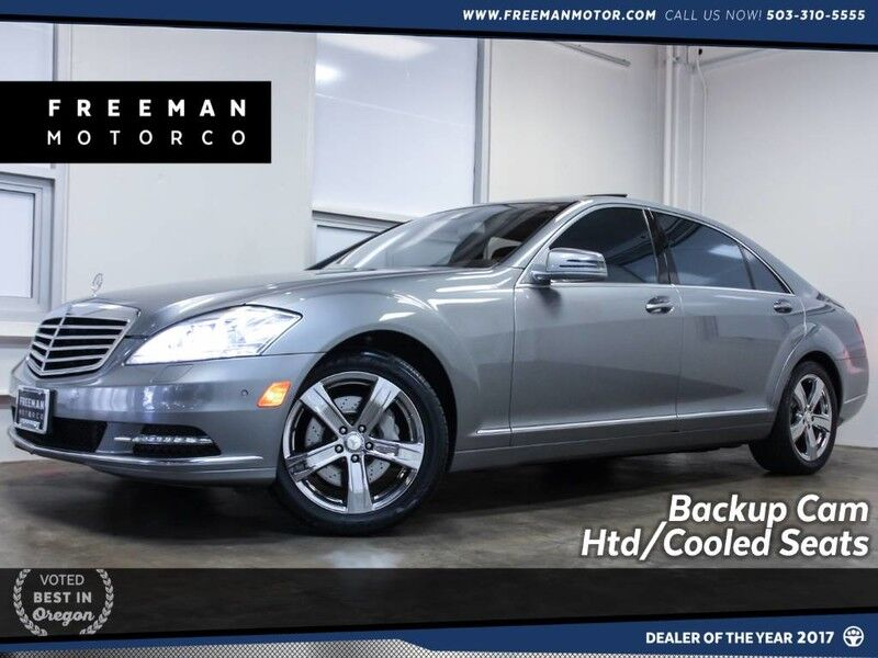 2010 Mercedes-Benz S 550 Local Car Htd/Cooled Seats Backup Cam Portland OR