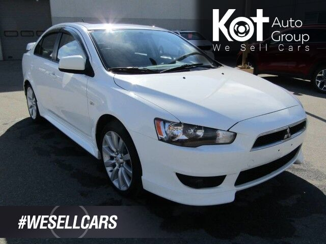2010 Mitsubishi Lancer GTS, Sunroof, Heated Seats, Air Conditioning, Cruise Control Kelowna BC