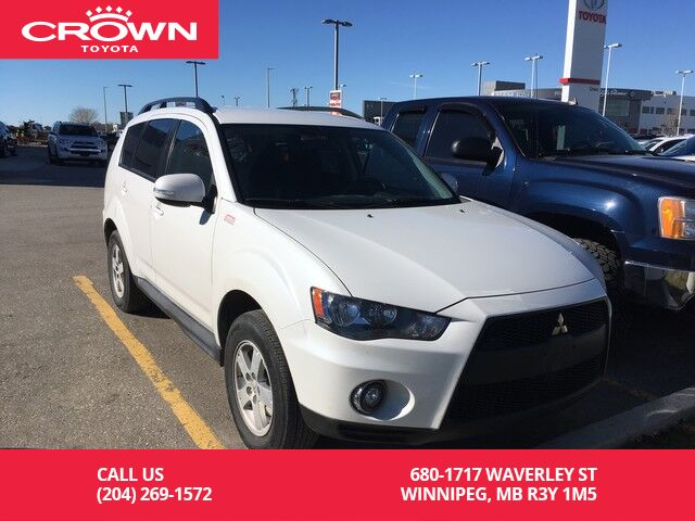 2010 Mitsubishi Outlander LS 4WD / Clean Carproof / One Owner / Local / Good  Kms