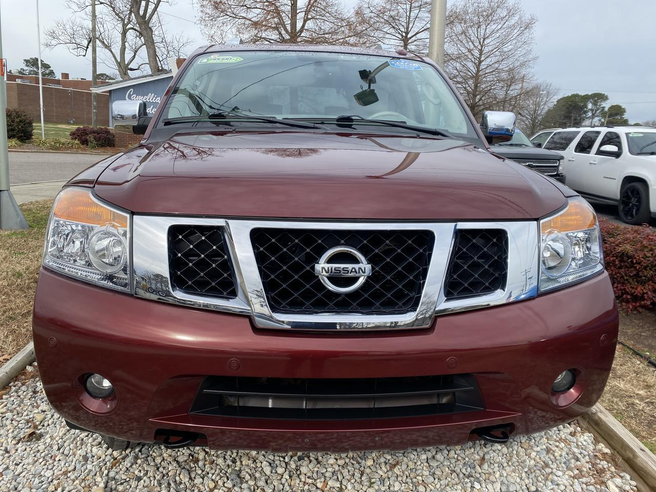 2010 NISSAN ARMADA PLATINUM 4X4, WARRANTY, LEATHER, NAV, HEATED/COOLED SEATS, DVD PLAYER, 3RD ROW, 1 OWNER, CLEAN! Norfolk VA