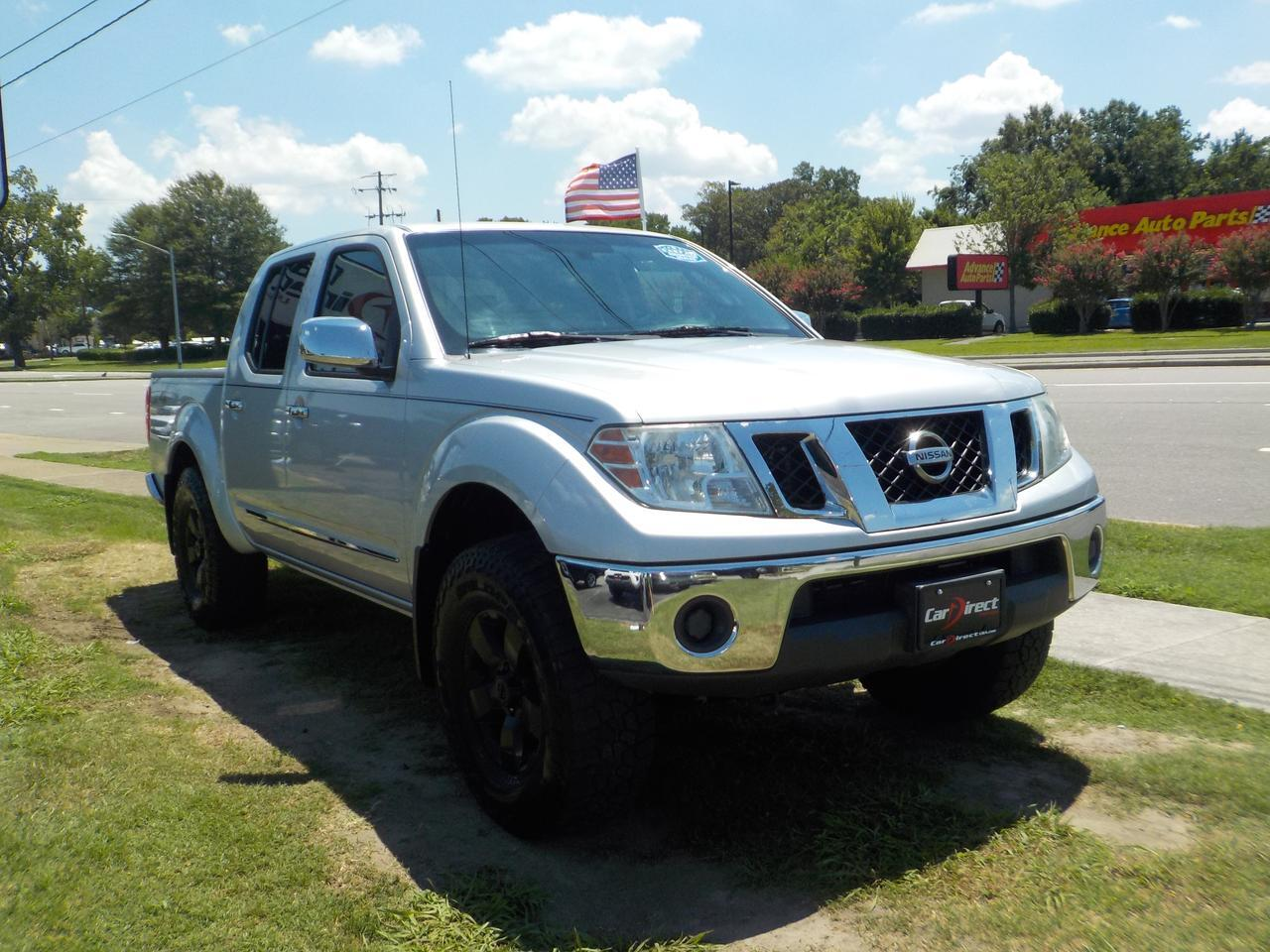 2010 NISSAN FRONTIER SE CREW CAB 4X4, BED LINER, TOW, SUNROOF, KEYLESS ENTRY, CRUISE CONTROL, DAYTIME RUNNING LIGHTS! Virginia Beach VA