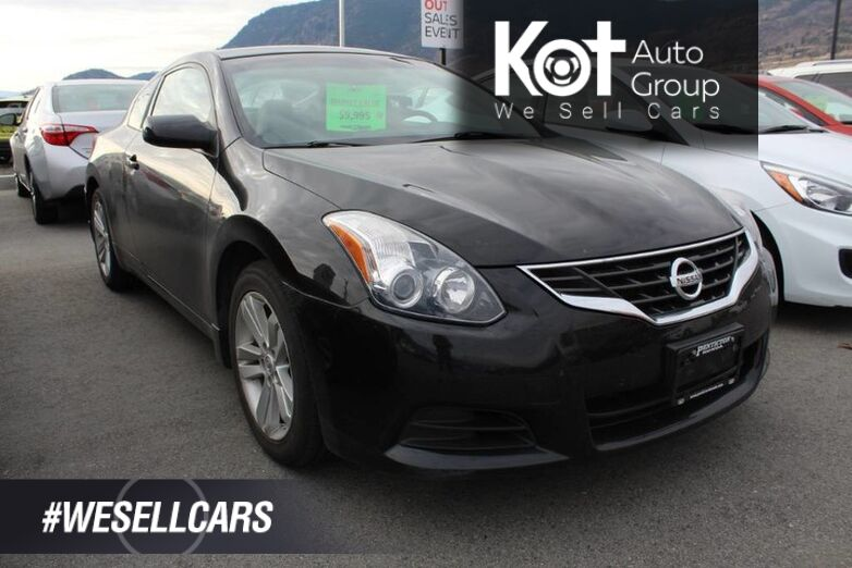 2010 Nissan Altima 2dr S, No Accidents, One Owner Penticton BC