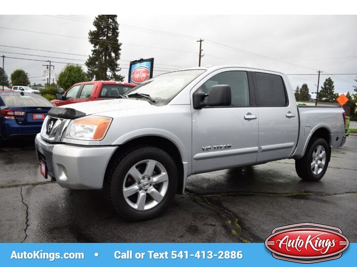 2010 Nissan Titan 4WD Crew Cab LE Bend OR