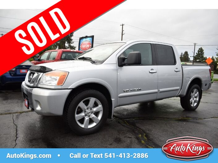 2010 Nissan Titan LE 4WD Crew Cab Bend OR