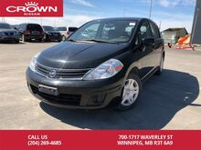 2010_Nissan_Versa_Hatchback 5 Speed Manual *Serviced With Us*_ Winnipeg MB