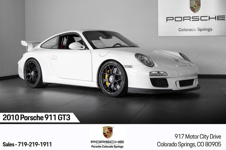 2010 Porsche 911 911 GT3 Colorado Springs CO