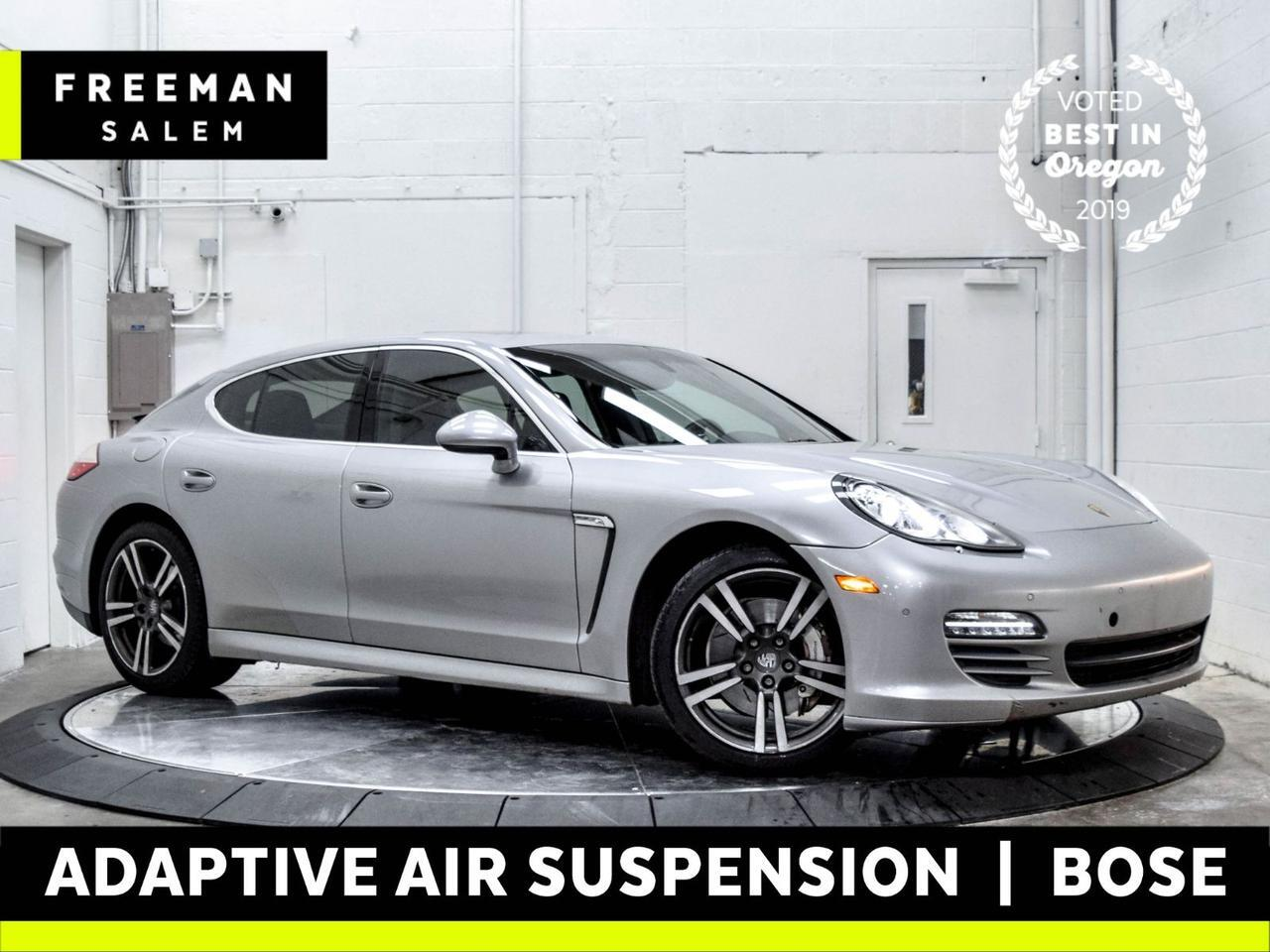 2010 Porsche Panamera 4S Adaptive Air Suspension Htd/Cooled Seats Salem OR