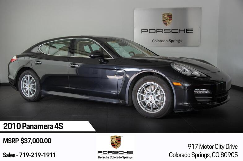 2010 Porsche Panamera 4S Colorado Springs CO