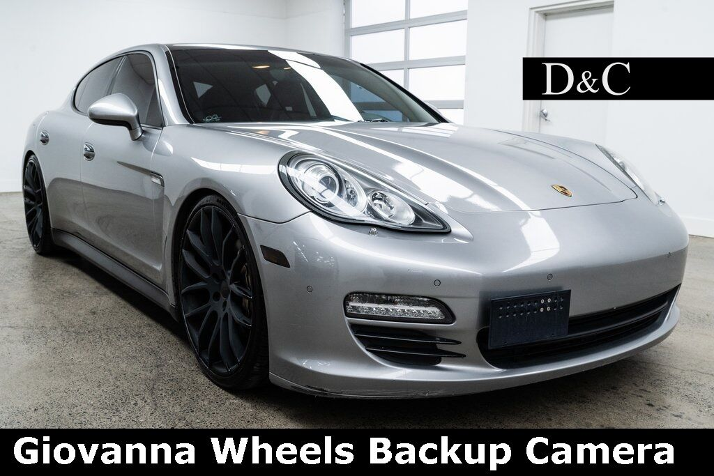 2010 Porsche Panamera 4S Giovanna Wheels Backup Camera Portland OR