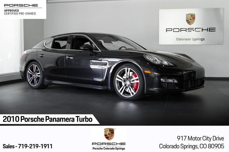 2010 Porsche Panamera Panamera Turbo Colorado Springs CO