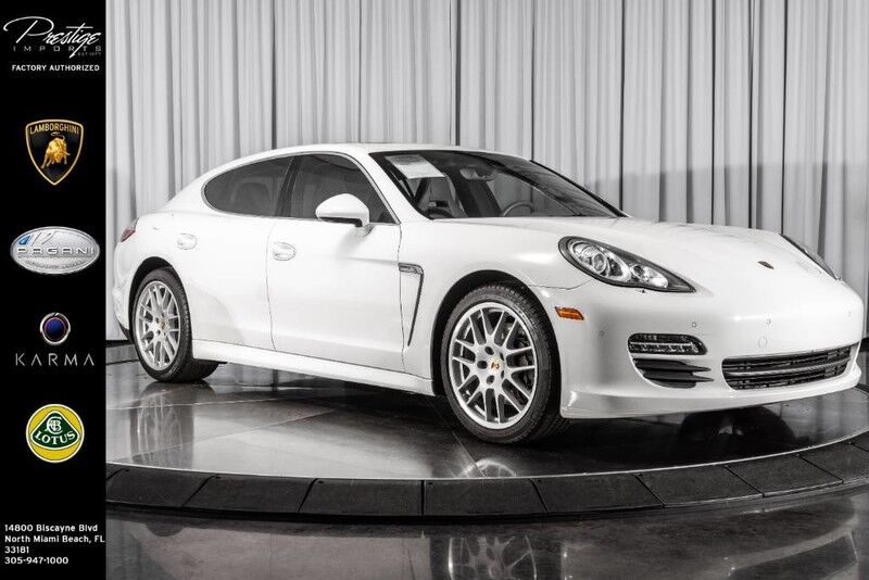 2010_Porsche_Panamera_S_ North Miami Beach FL