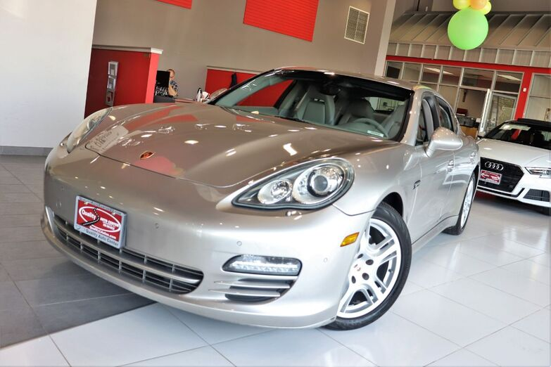 2010 Porsche Panamera S Platinum Gray Full Leather 19 inch Wheels 14 Way Power Seats 1 Owner Springfield NJ