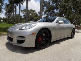 2010_Porsche_Panamera_Turbo_ Hollywood FL