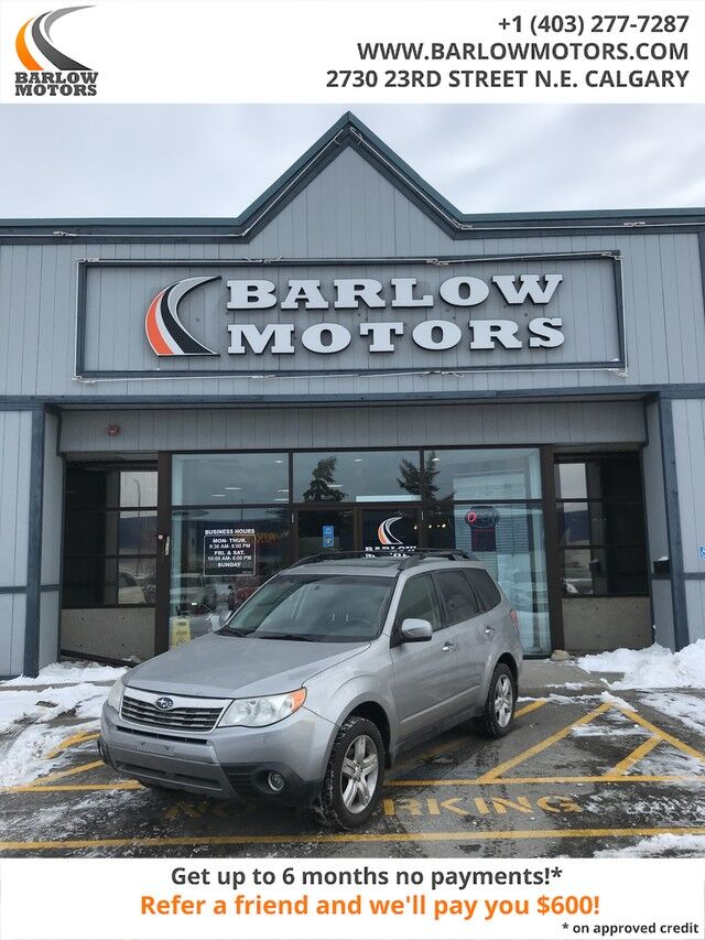 2010 Subaru Forester X Limited Clean Car FAX No accidents Fully Equipped and Inspected Calgary AB