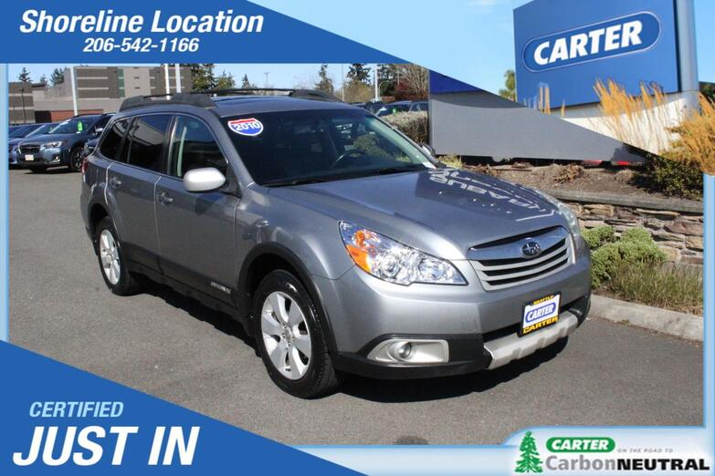 2010 Subaru Outback Ltd Pwr Moon Seattle WA