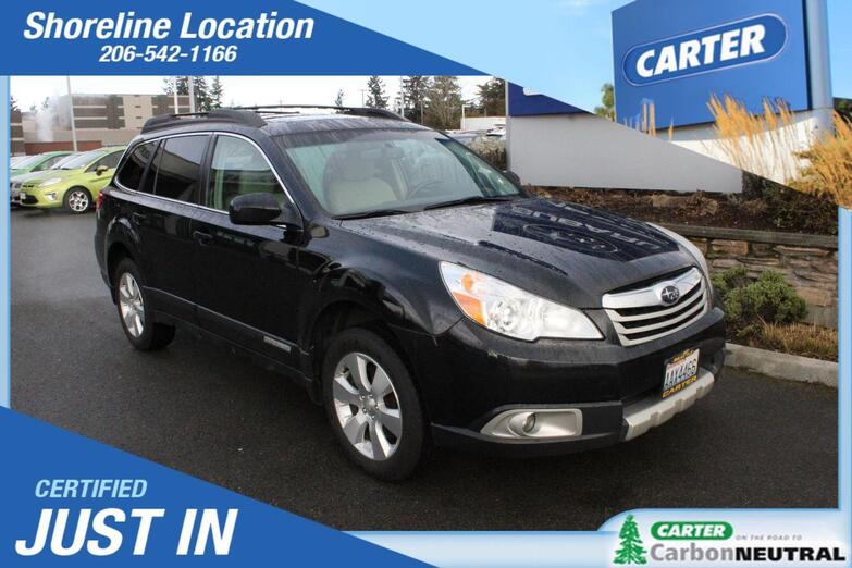 2010 Subaru Outback Ltd Pwr Moon Seattle WA
