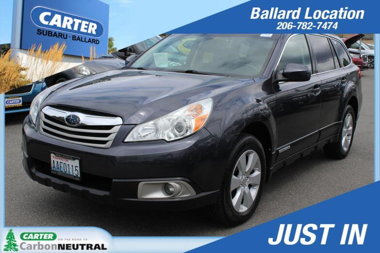 2010 Subaru Outback Prem All-Weathr/Pwr Moon Seattle WA