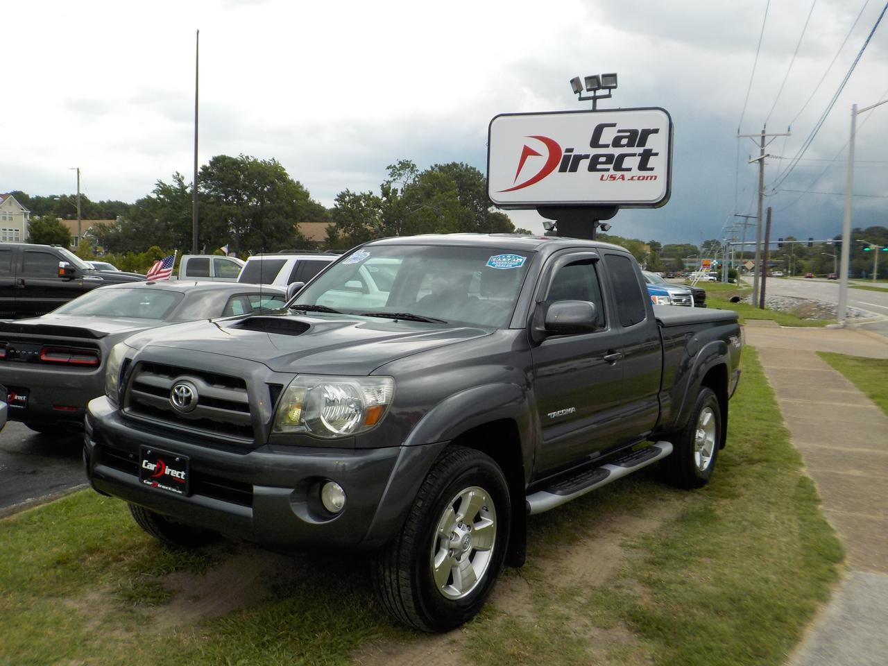 2010 TOYOTA TACOMA SR5 TRD SPORT EXTENDED CAB 4X4, HARD TONNEAU COVER, RUNNING BOARDS, TOW, DAYTIME RUNNING LIGHTS! Virginia Beach VA