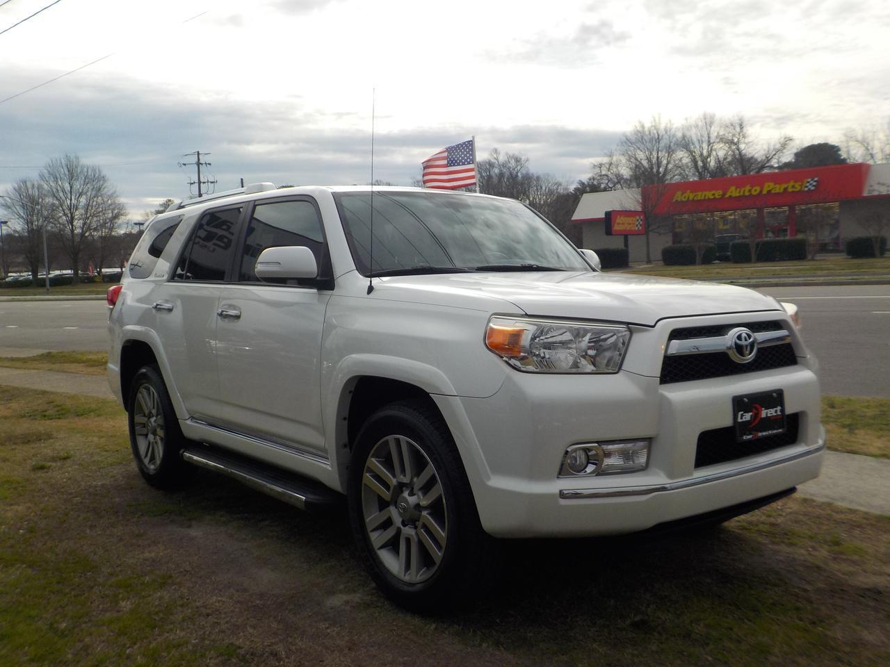 2010 TOYOTA 4RUNNER LIMITED 4X4, CARFAX 1 OWNER & LOW MILEAGE, SUNROOF, BACKUP CAMERA, TOW, ROOF RACKS, RUNNING BOARDS! Virginia Beach VA
