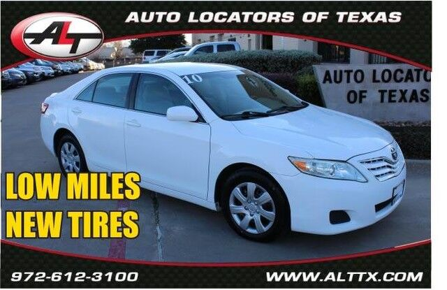 2010 Toyota Camry LE Plano TX