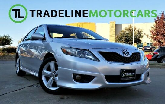 2010 Toyota Camry SE POWER WINDOWS, AUX, LEATHER STEERING WHEEL, AND MUCH MORE!!! CARROLLTON TX