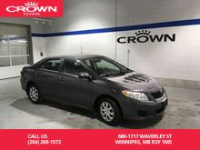 2010_Toyota_Corolla_4dr Sdn Auto CE Enhance Convenience Pkg / Great Condition / Unbeatable Value_ Winnipeg MB