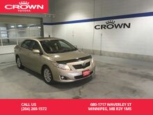 2010_Toyota_Corolla_LE Auto / Clean Crproof / One Owner / Local / Great Value_ Winnipeg MB