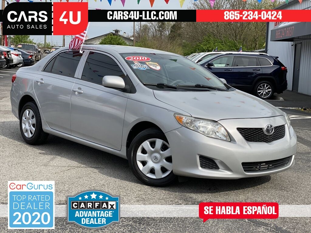 2010 Toyota Corolla LE Knoxville TN