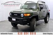 2010 Toyota FJ Cruiser 4.0L V6 Engine AWD w/ Rear View Camera, High-Mounted Double-Wishbone Front Suspension, MP3/WMA Capability