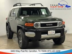 2010_Toyota_FJ Cruiser_4WD REAR CAMERA PARKING DISTANCE CONTROL LEATHER STEERING WHEEL ALLOY WHEELS_ Carrollton TX