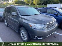 2010 Toyota Highlander Hybrid Limited South Burlington VT