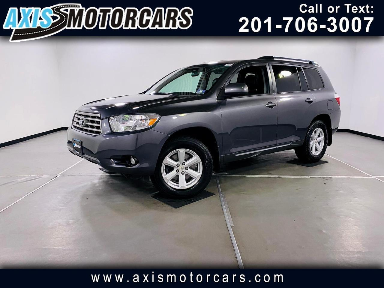 2010 Toyota Highlander SE w/Backup Camera 3rd Row Seat Jersey City NJ