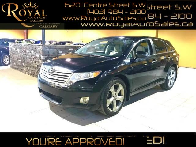 2010_Toyota_Venza_LEATHER, BACK UP CAM, NAV, BLUETOOTH_ Calgary AB