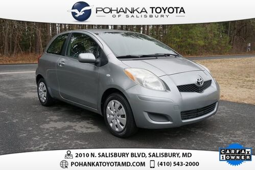 2010_Toyota_Yaris_Base_ Salisbury MD