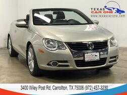 2010_Volkswagen_Eos_KOMFORT AUTOMATIC LEATHER HEATED SEATS DUAL CLIMATE CONTROL ALLO_ Carrollton TX