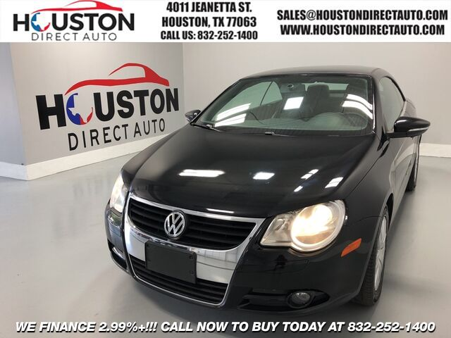2010 Volkswagen Eos Komfort Edition Houston TX