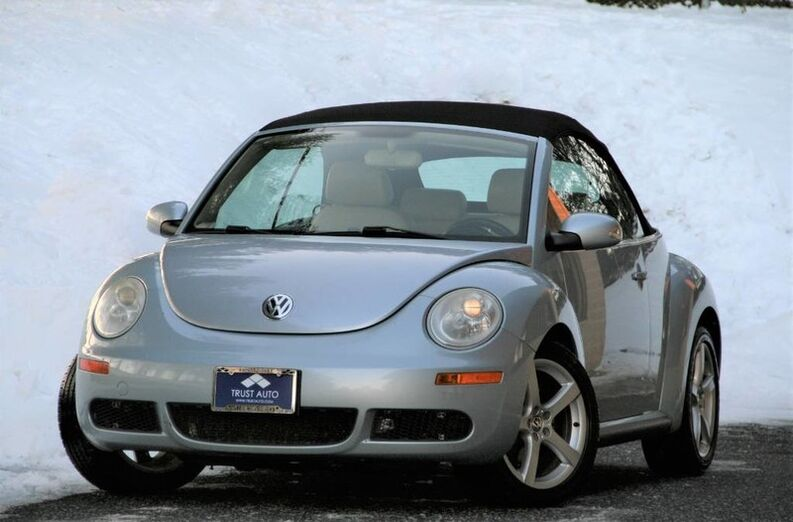 2010 Volkswagen New Beetle 2.5L PZEV Convertible Sykesville MD