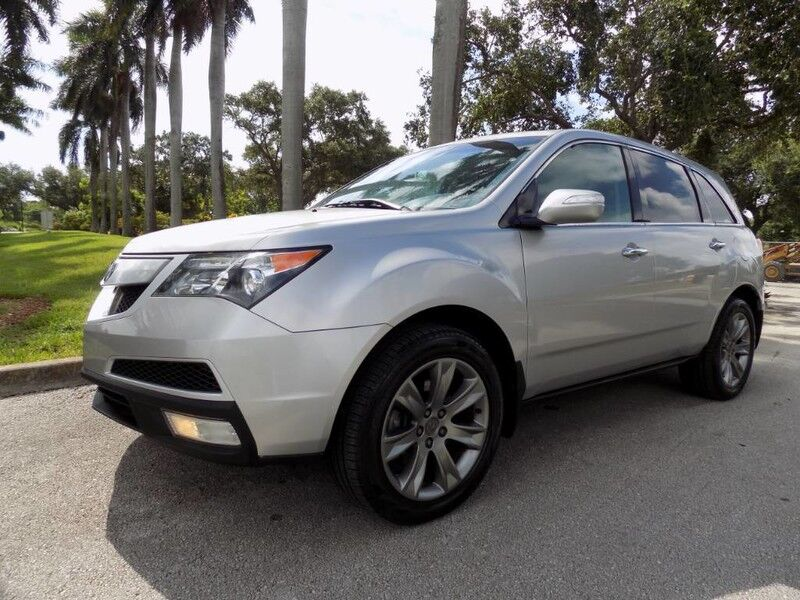 2011 Acura MDX 3.7L Advance Package Hollywood FL