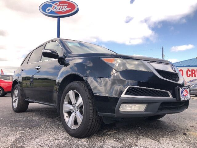 2011 Acura MDX 6-Spd AT w/Tech Package New Braunfels TX
