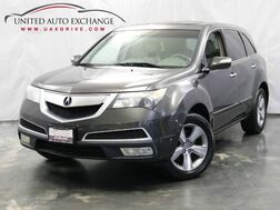 2011_Acura_MDX_Tech Pkg / 3.7L V6 Engine / AWD / Sunroof / Navigation / Rear View Camera / Heated Leather Seats_ Addison IL